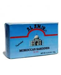 Al Amir Moroccan Sardines in Oil 100g