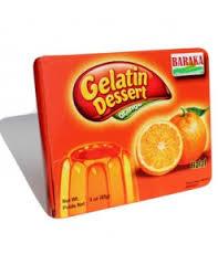 Baraka Orange Gelatin Dessert 85g