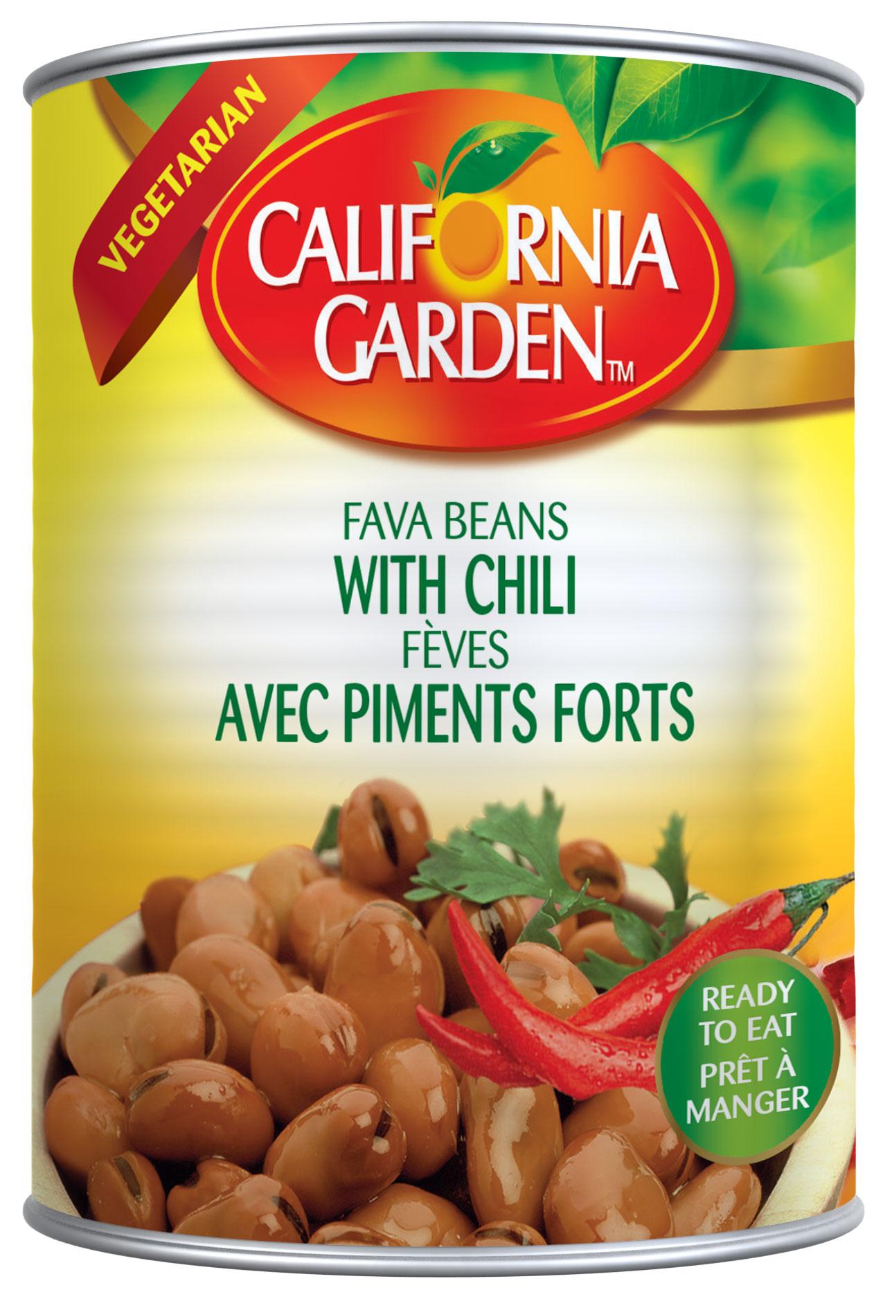 California Garden Foul Medammas with Chilli 450g.jpg