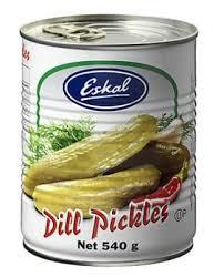 Eskal Cucumber Dill Pickles 540g