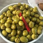 Lebanese Green Olives 200g