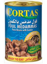 CORTAS FABA BEANS with CUMIN 420g